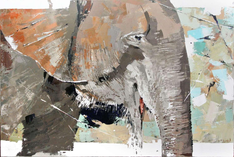 Olifant;   'n inspiratie met paletmes